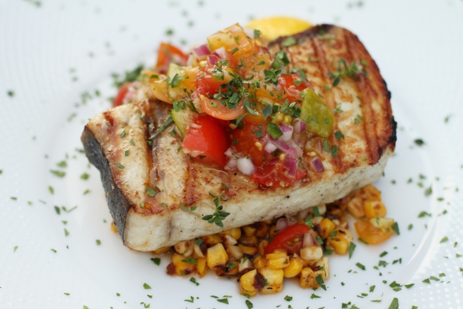Chipotle Grilled Swordfish